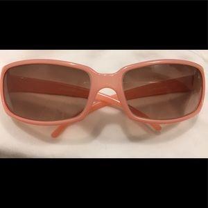 light pink kate spade sunglasses, original case